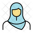 Muslim Girl Icon