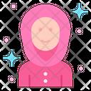 Muslim Girl Arab Women Arabic Icon