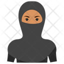 Muslim Lady Arabic Woman Woman In Paranja Icon