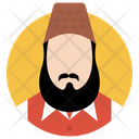 Muslim Man Islamic Man Islamic Person Icon