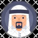 Avatar Man Muslim Icon