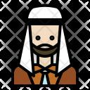 Muslim Man Business Icon