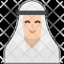 Arab Avatar Man Icon