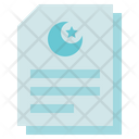 Funeral Muslim Paper Death Icon