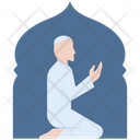 Muslim prayer Icon
