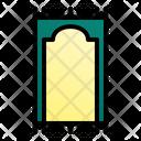 Muslim Prayer Mat Icon