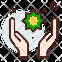 Muslim Praying Hand Praying Hand Islamic Star Icon