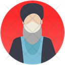 Muslim Scholar Religious Man Scholar Icon
