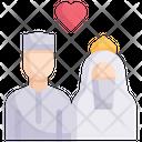 Muslim Wedding Icon