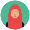 Muslim Woman Avatar Icon