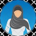 Muslim Woman Icon