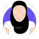Muslim Woman Islamic Girl Arab Woman Icon