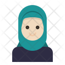 Muslim Woman Hijab Icon