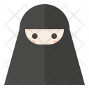 Niqab Muslim Islamic Icon