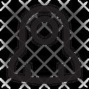 Iconography Islam Muslimah Avatar Icon