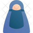 Muslim Avatar Woman Icon