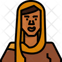 Avatar Woman African Icon