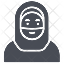 Muslim Paranja Woman Icon