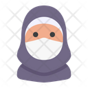 Hijab Avatar Woman Icon
