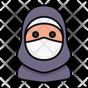 Hijab Avatar Woman Icon