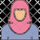 Lady Woman Blonde Icon