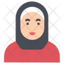 Avatar Female Hijab Icon