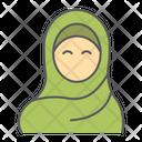 Muslim Woman Hijab Muslim Icon