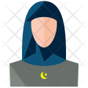 Muslim Woman Avatar Icon