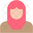 Muslim Woman Girl Icon
