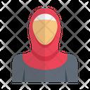 Muslim Women Girl Icon