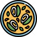 Mussel Seafood Food Icon