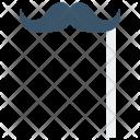 Mustache Carnival Face Icon