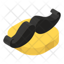 Mustache Whiskers Mustachio Icon