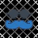 Mustache Goggles Glasses Icon