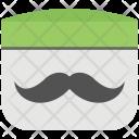 Mustache Cream Care Icon