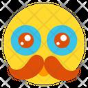 Mustache Smile Icon