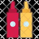 Mustard Sauce Ketchup Icon