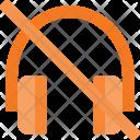 Mute Speaker Headphone Icon