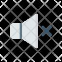 Mute Silent Volume Icon