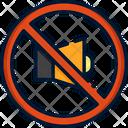 Mute No Voice No Volume Icon