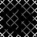 Cross No Sound Silent Icon