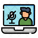 Microphone Mute Silence Icon