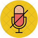 Mute Silent Microphone Icon
