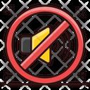 Mute Stop Music No Sound Icon