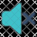Volume Mute Speaker Icon