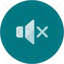 Mute Speaker Volume Icon