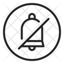 Mute Off Bell Icon