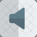 Mute Silent Speaker Off Icon