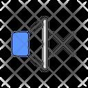 Mute Volume Silent Icon