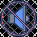 Mute No Volume No Sound Icon